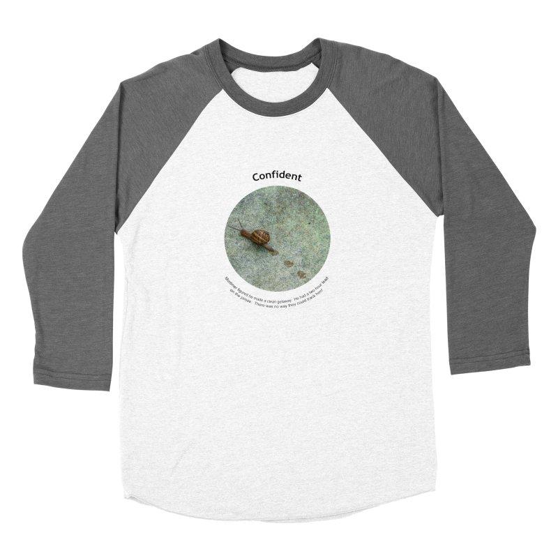 Confident Women's Longsleeve T-Shirt by Hogwash's Artist Shop