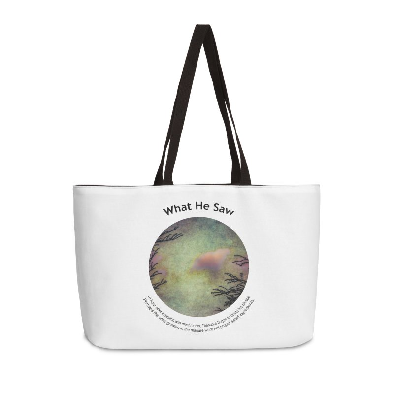 What He Saw Accessories Bag by Hogwash's Artist Shop
