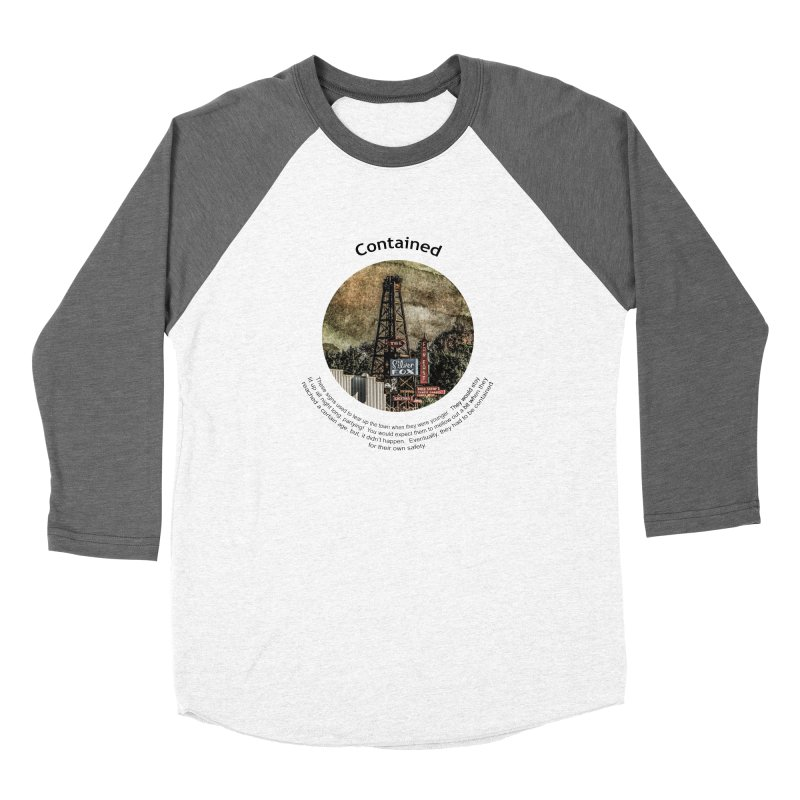 Contained Women's Longsleeve T-Shirt by Hogwash's Artist Shop