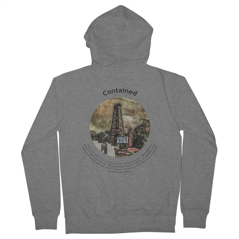 Contained Women's Zip-Up Hoody by Hogwash's Artist Shop