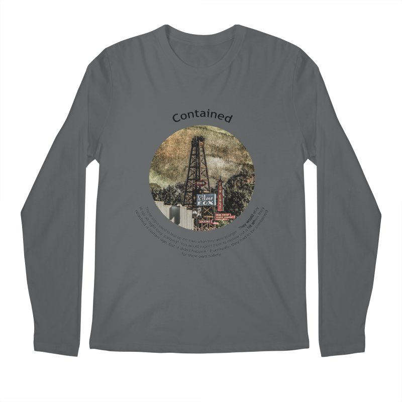 Contained Men's Longsleeve T-Shirt by Hogwash's Artist Shop