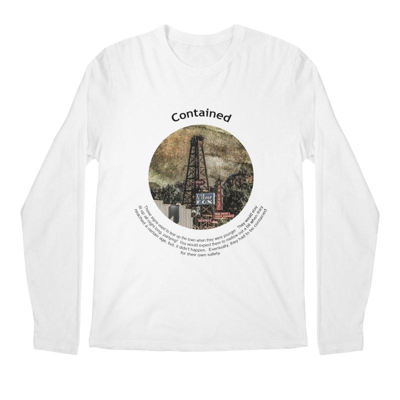 Contained Men's Regular Longsleeve T-Shirt by Hogwash's Artist Shop