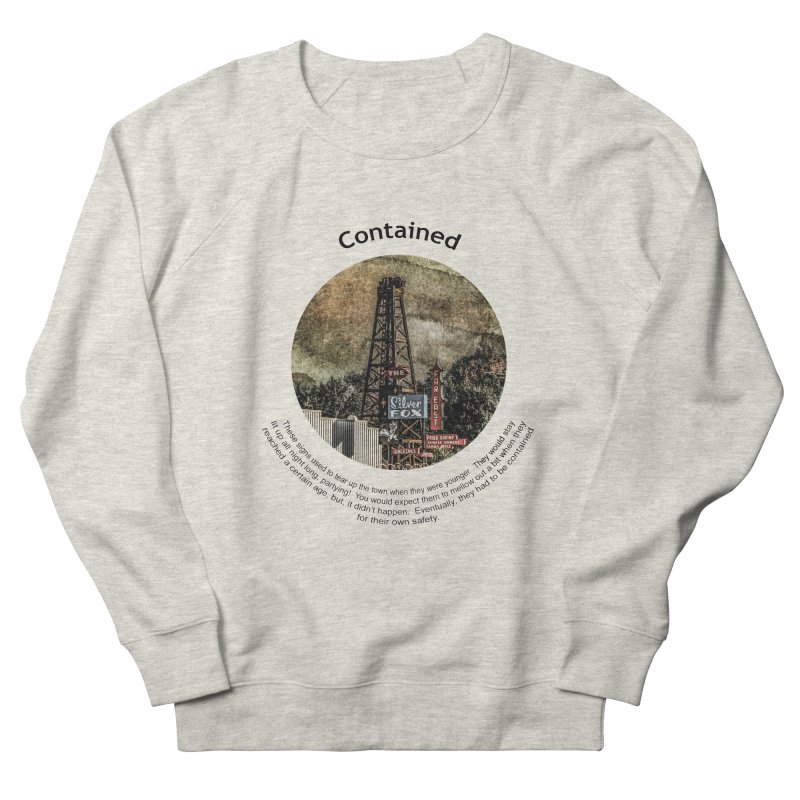 Contained Men's Sweatshirt by Hogwash's Artist Shop