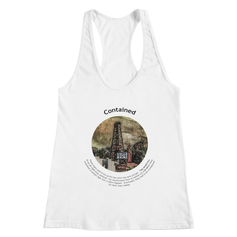 Contained Women's Tank by Hogwash's Artist Shop