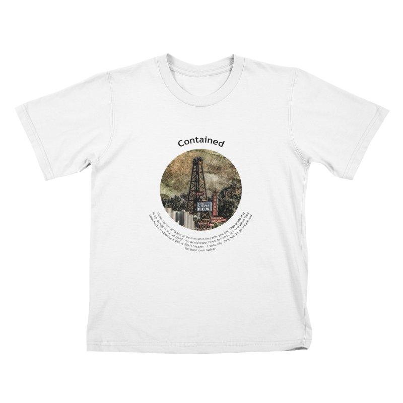 Contained Kids Toddler T-Shirt by Hogwash's Artist Shop