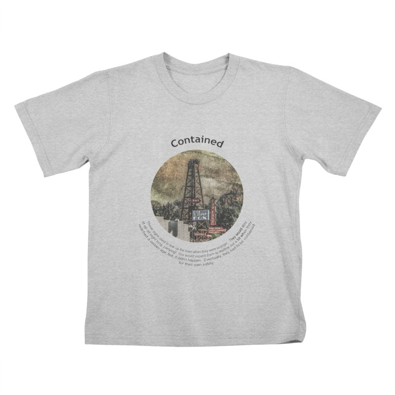 Contained Kids T-Shirt by Hogwash's Artist Shop
