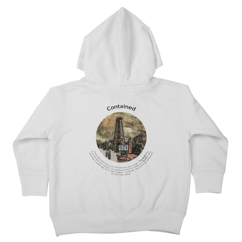 Contained Kids Toddler Zip-Up Hoody by Hogwash's Artist Shop