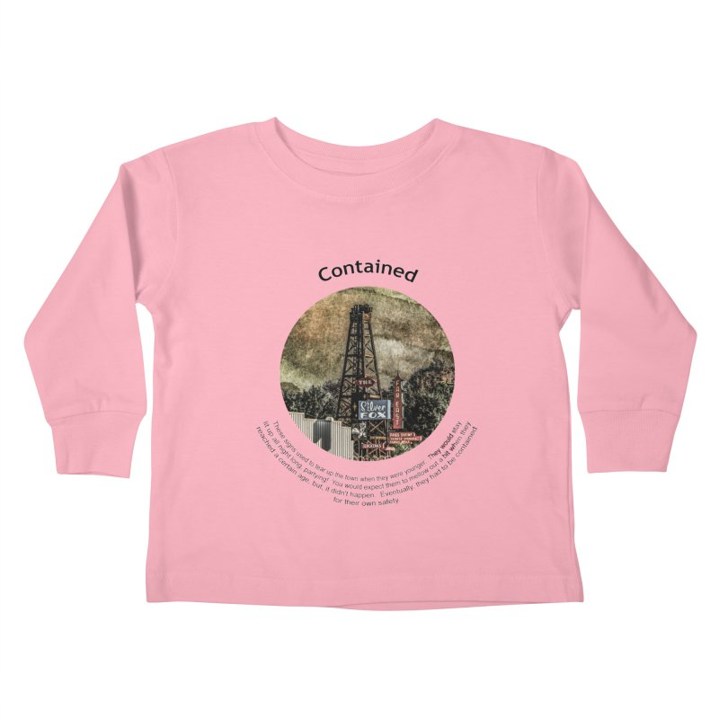 Contained Kids Toddler Longsleeve T-Shirt by Hogwash's Artist Shop