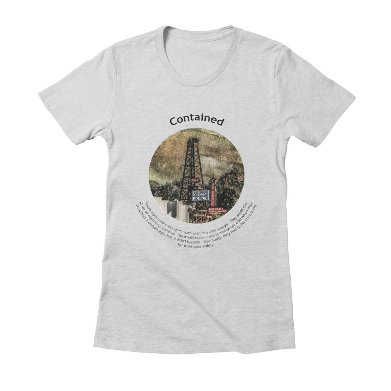 Contained Women's T-Shirt by Hogwash's Artist Shop
