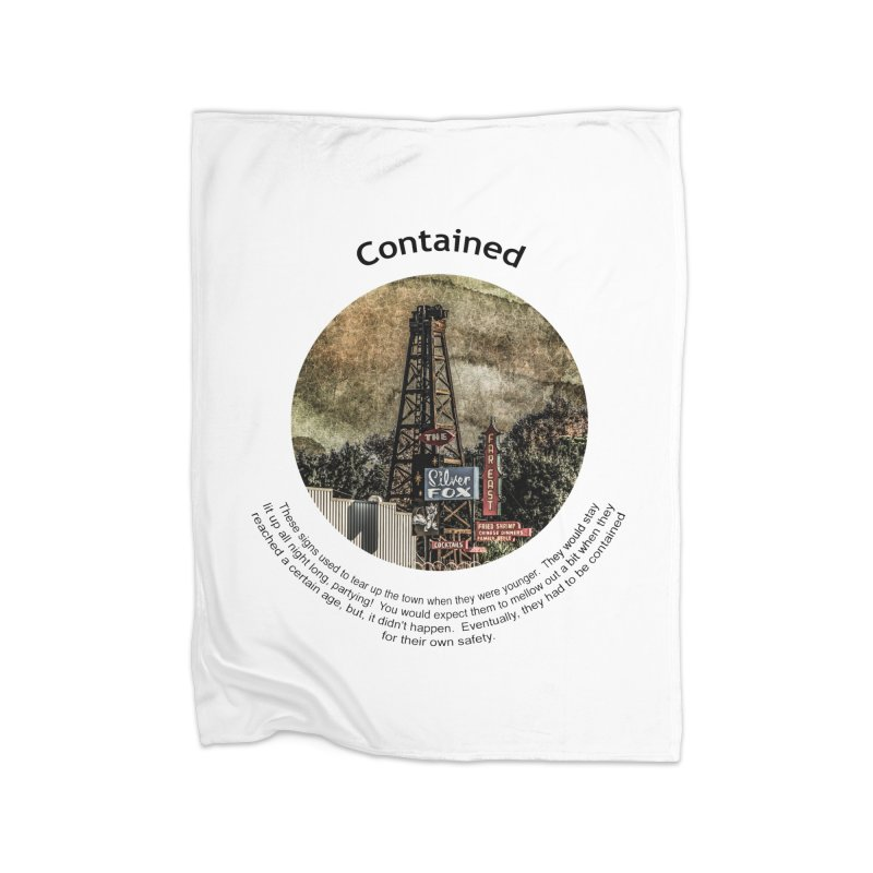 Contained Home Blanket by Hogwash's Artist Shop