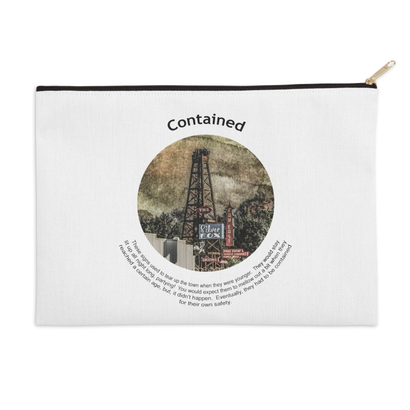 Contained Accessories Zip Pouch by Hogwash's Artist Shop
