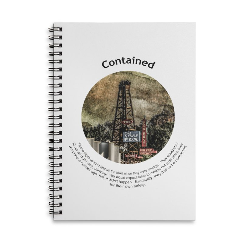 Contained Accessories Notebook by Hogwash's Artist Shop