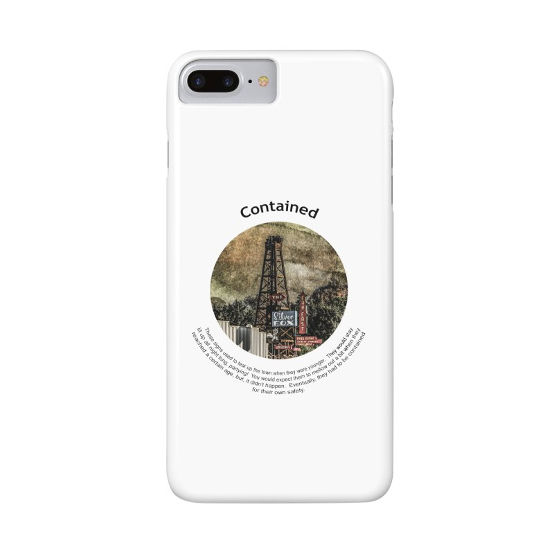 Contained Accessories Phone Case by Hogwash's Artist Shop