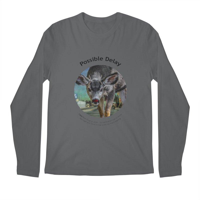 Possible Delay Men's Regular Longsleeve T-Shirt by Hogwash's Artist Shop