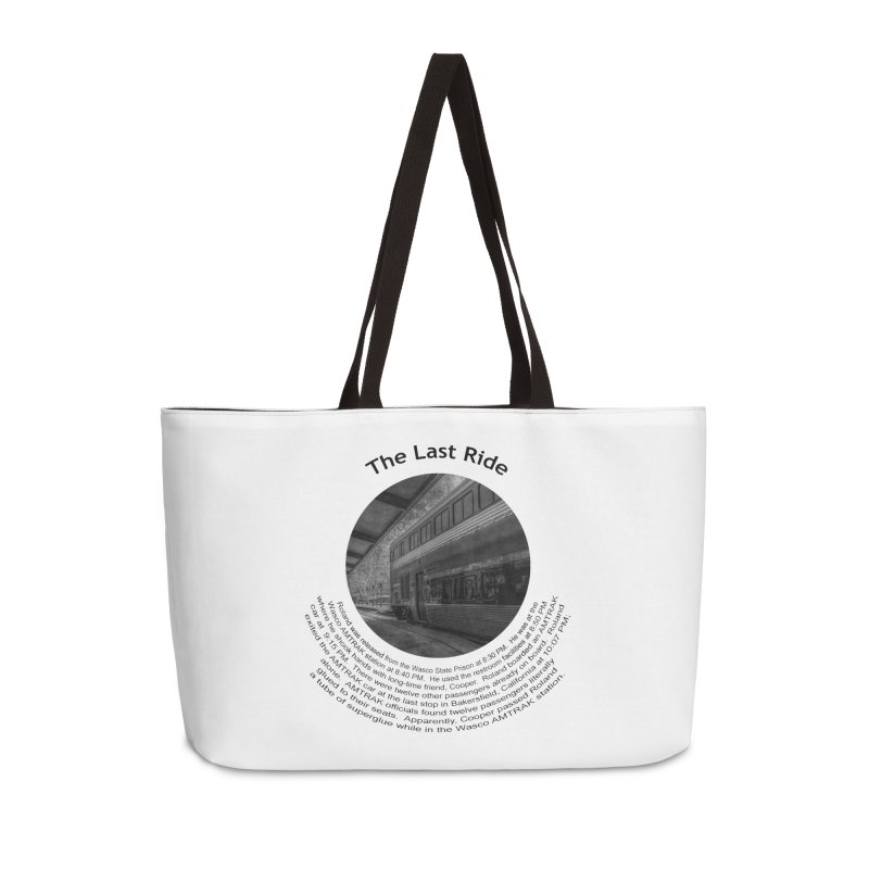 The Last Ride Accessories Bag by Hogwash's Artist Shop