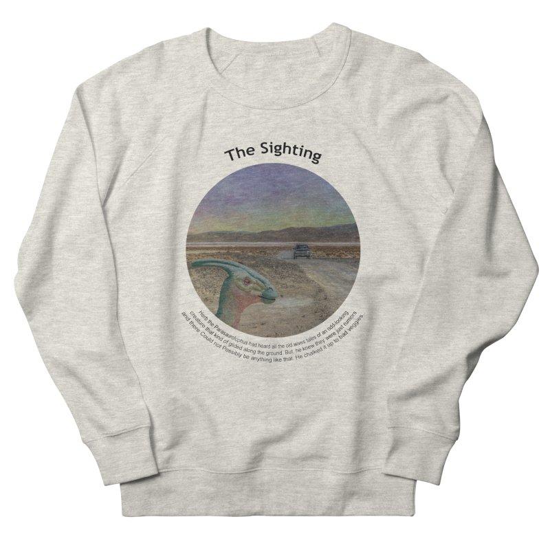 The Sighting Men's Sweatshirt by Hogwash's Artist Shop