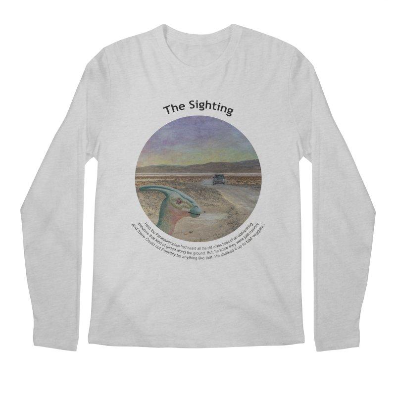 The Sighting Men's Regular Longsleeve T-Shirt by Hogwash's Artist Shop