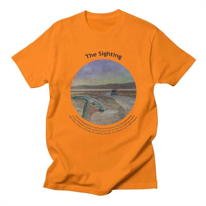 The Sighting Men's T-shirt by Hogwash's Artist Shop
