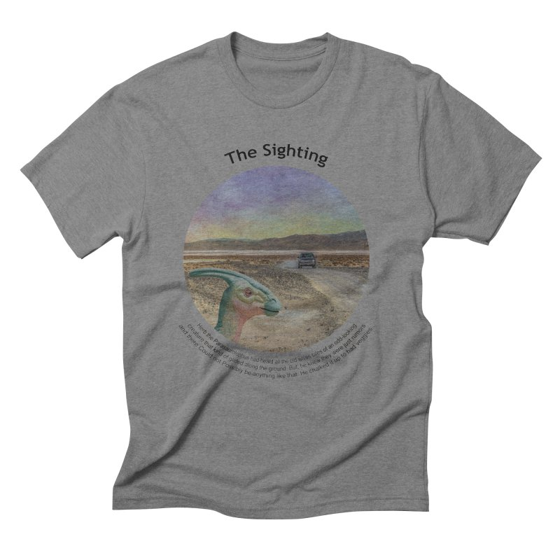 The Sighting Men's Triblend T-Shirt by Hogwash's Artist Shop
