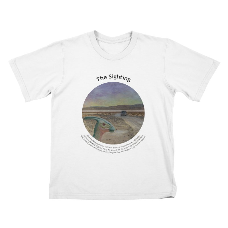 The Sighting Kids T-Shirt by Hogwash's Artist Shop