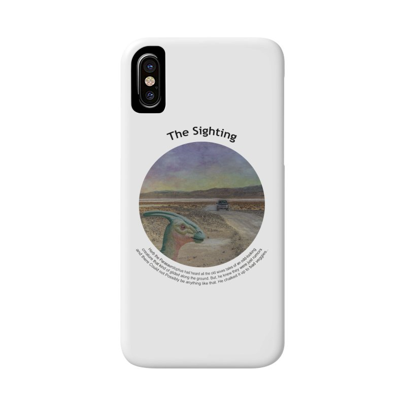 The Sighting Accessories Phone Case by Hogwash's Artist Shop