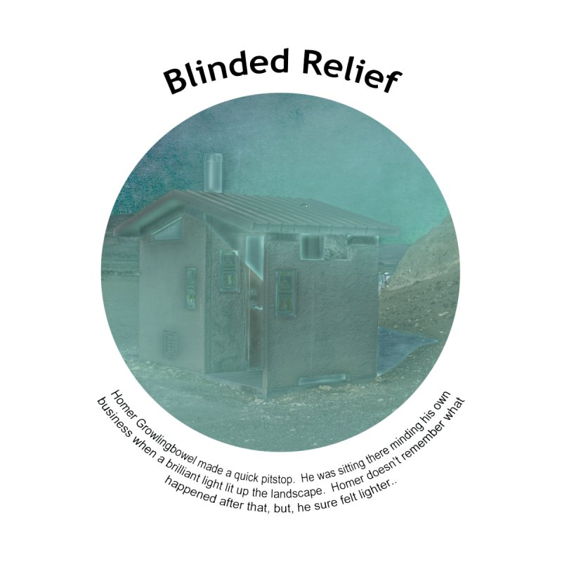 Blinded Relief Accessories Bag by Hogwash's Artist Shop