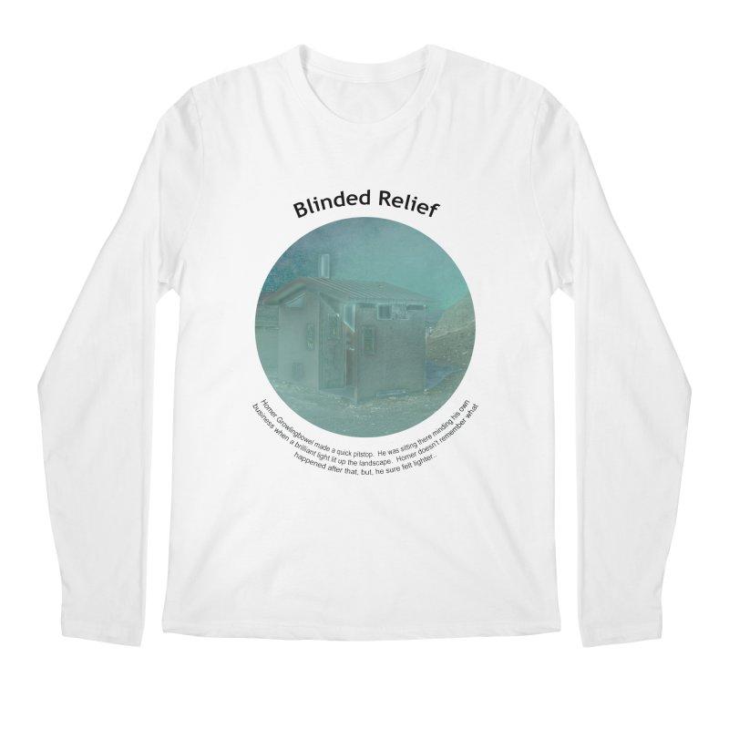 Blinded Relief Men's Regular Longsleeve T-Shirt by Hogwash's Artist Shop