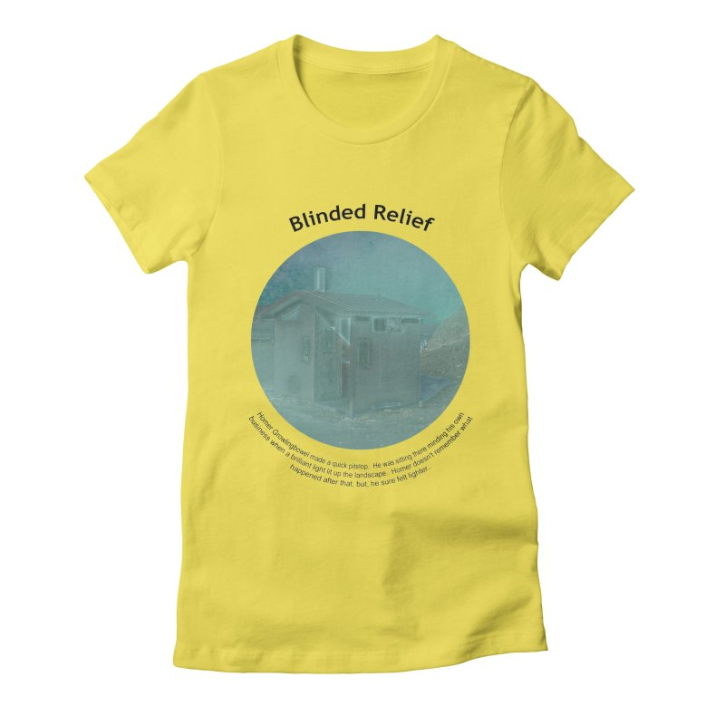 Blinded Relief Women's Lounge Pants by Hogwash's Artist Shop