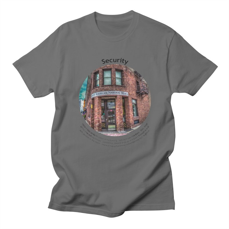 Security Men's T-Shirt by Hogwash's Artist Shop
