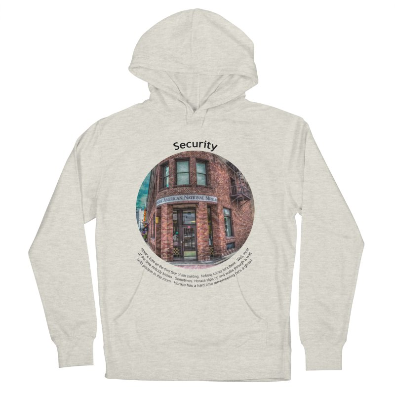 Security Women's French Terry Pullover Hoody by Hogwash's Artist Shop
