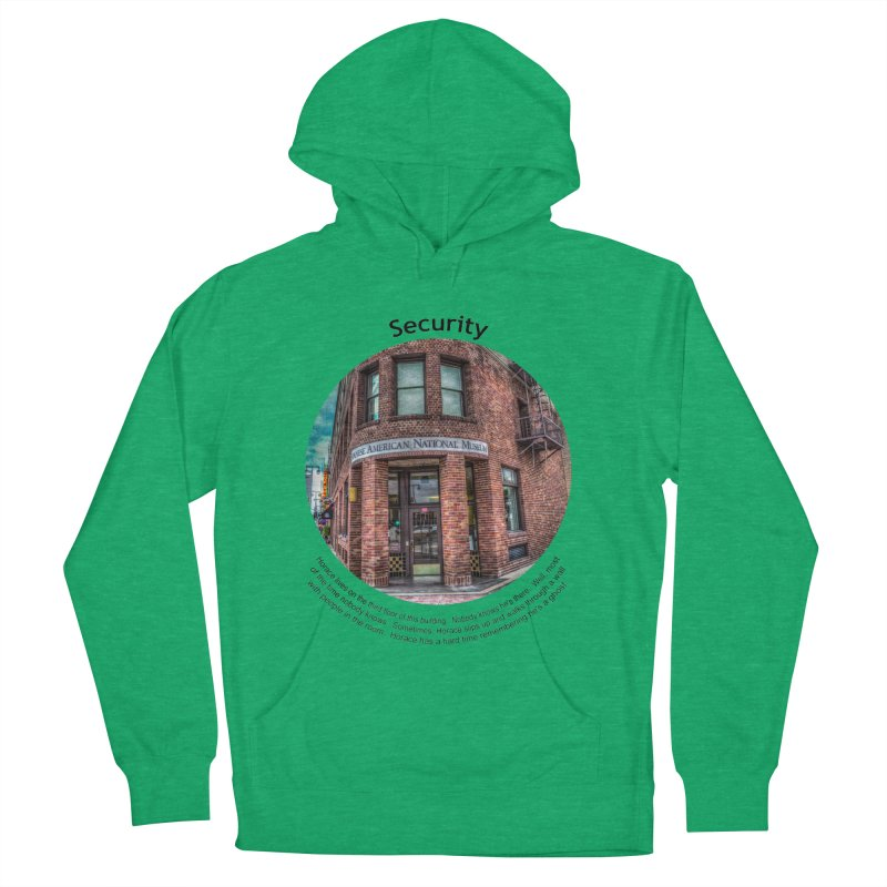 Security Men's French Terry Pullover Hoody by Hogwash's Artist Shop