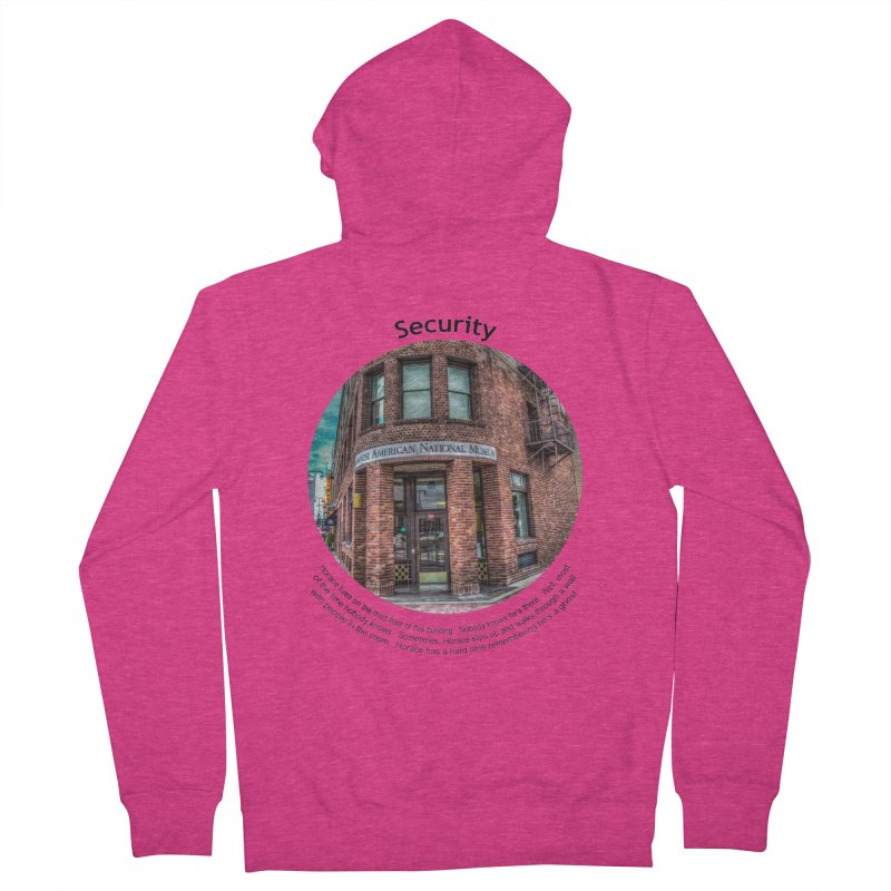 Security Women's French Terry Zip-Up Hoody by Hogwash's Artist Shop