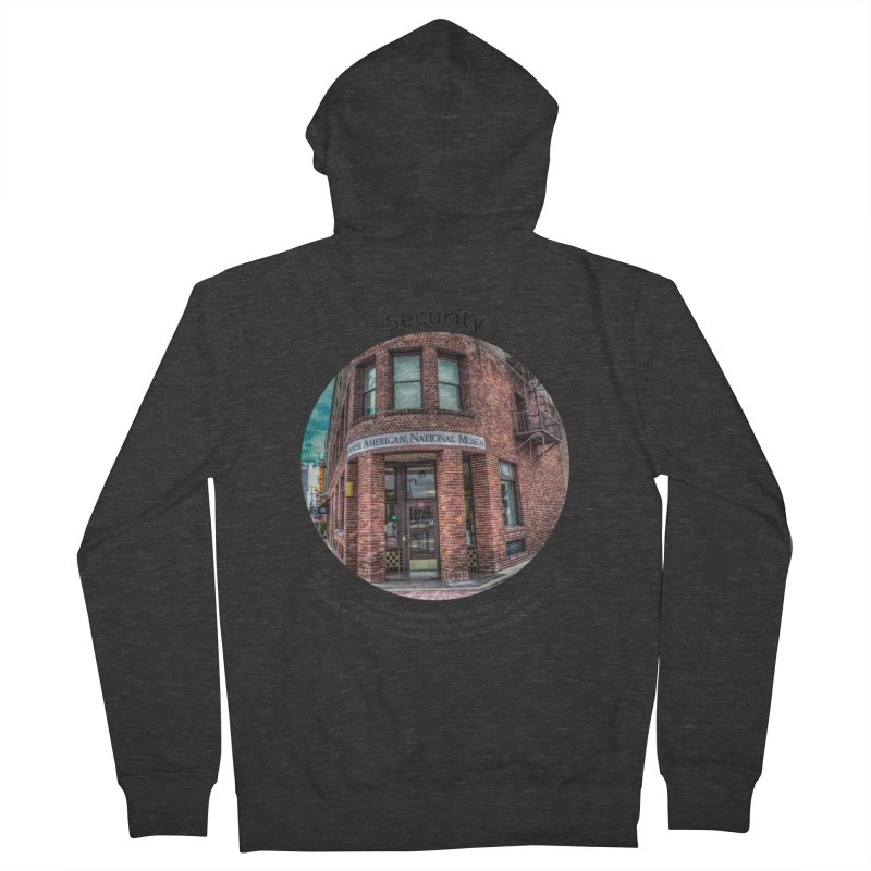 Security Men's French Terry Zip-Up Hoody by Hogwash's Artist Shop
