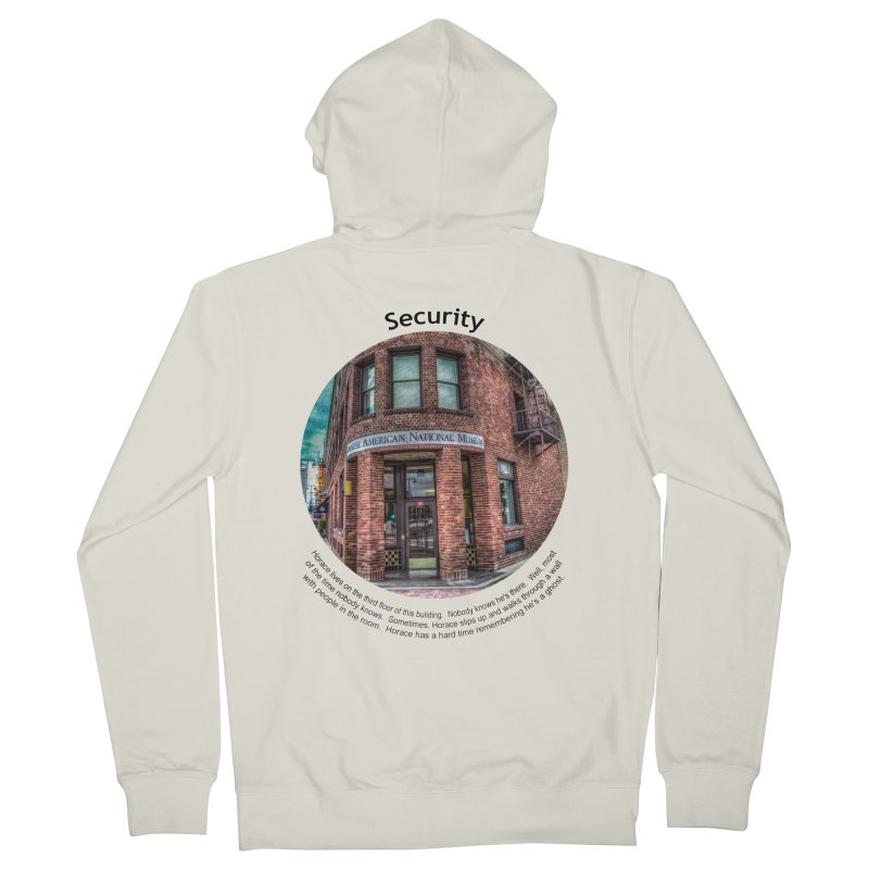 Security Men's Zip-Up Hoody by Hogwash's Artist Shop