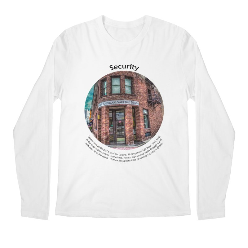 Security Men's Regular Longsleeve T-Shirt by Hogwash's Artist Shop