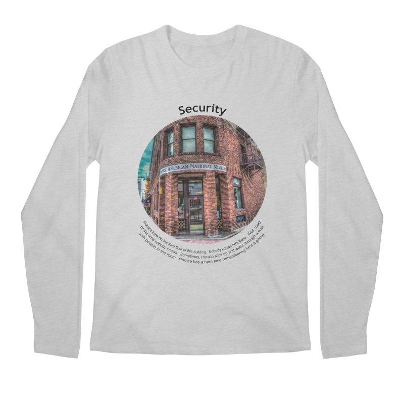 Security Men's Longsleeve T-Shirt by Hogwash's Artist Shop
