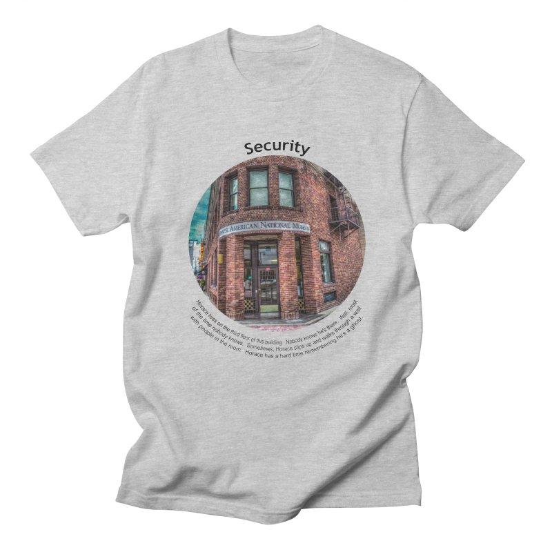 Security Men's Regular T-Shirt by Hogwash's Artist Shop