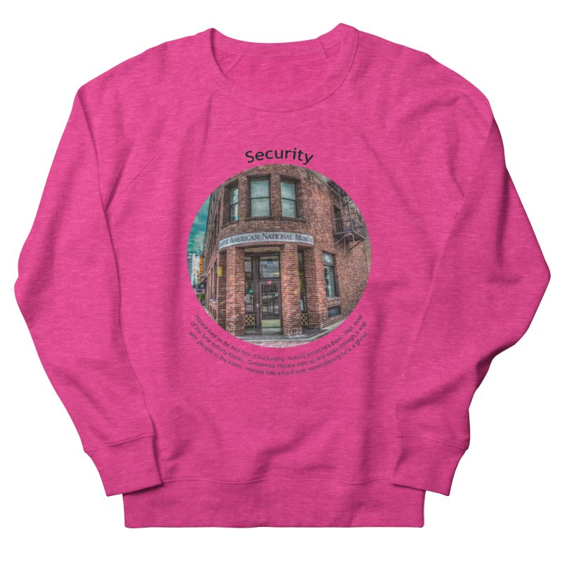 Security Women's Sweatshirt by Hogwash's Artist Shop