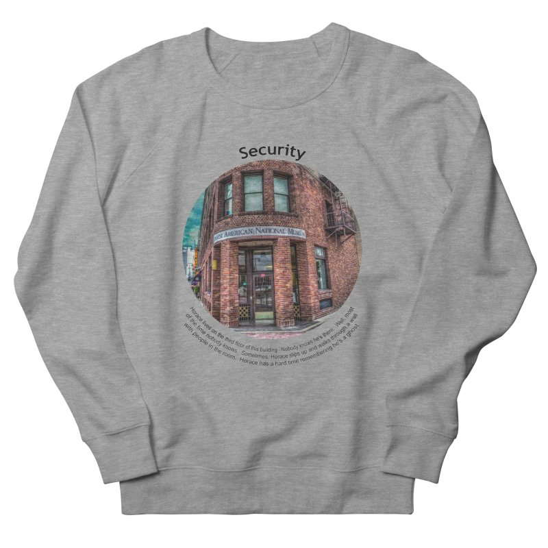 Security Men's French Terry Sweatshirt by Hogwash's Artist Shop
