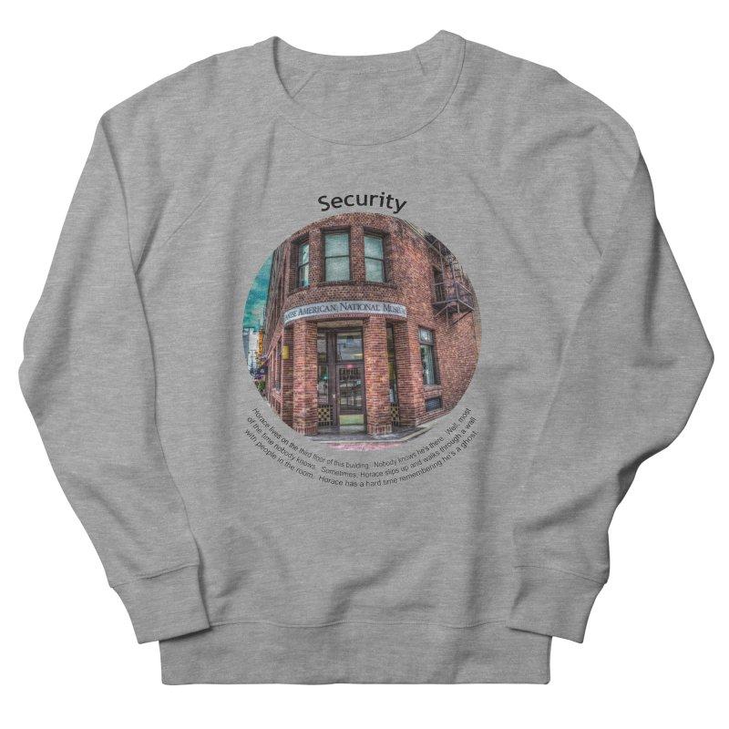 Security Men's Sweatshirt by Hogwash's Artist Shop