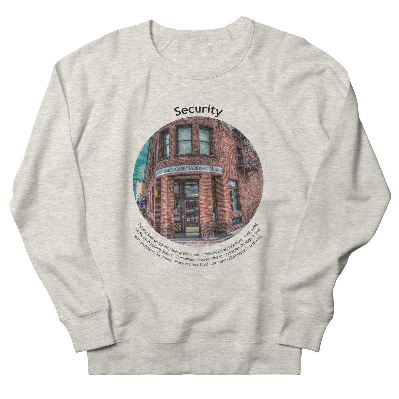 Security Men's French Terry Sweatshirt by Hogwash's Artist Shop
