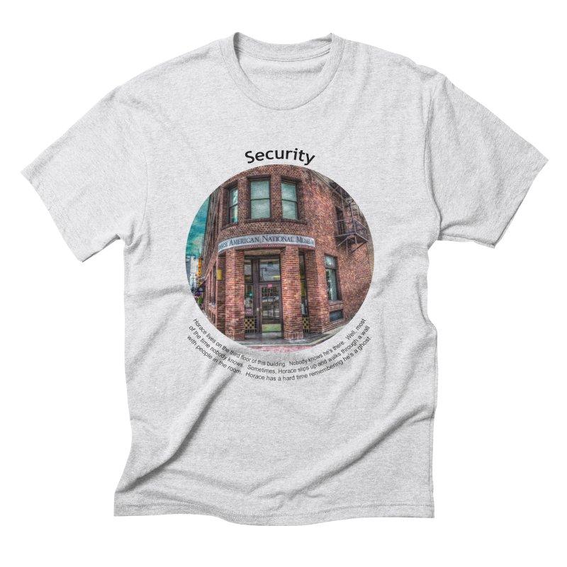 Security Men's Triblend T-Shirt by Hogwash's Artist Shop