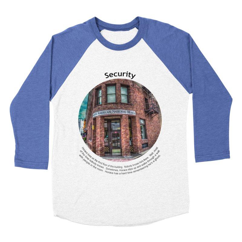 Security Women's Baseball Triblend Longsleeve T-Shirt by Hogwash's Artist Shop