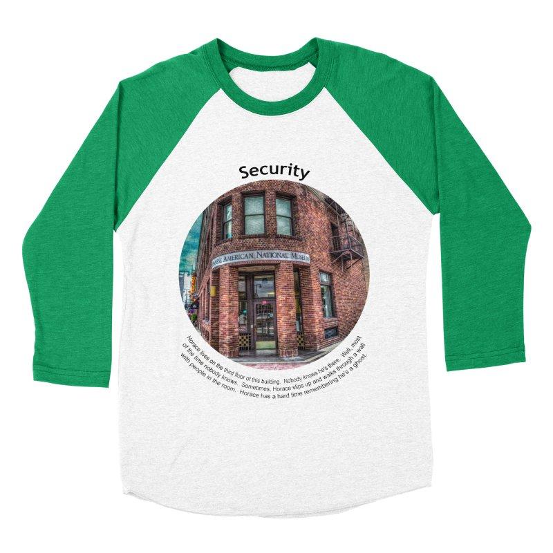 Security Women's Baseball Triblend T-Shirt by Hogwash's Artist Shop
