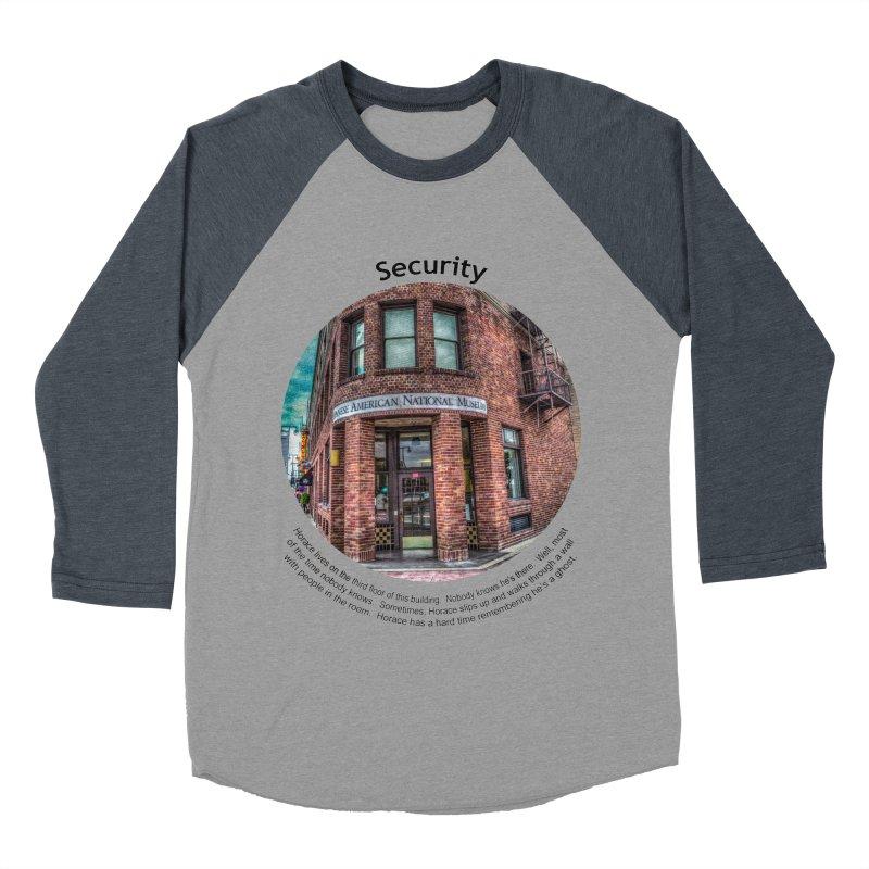 Security Men's Baseball Triblend Longsleeve T-Shirt by Hogwash's Artist Shop