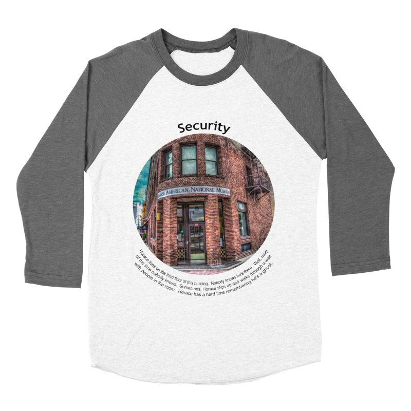 Security Men's Baseball Triblend T-Shirt by Hogwash's Artist Shop