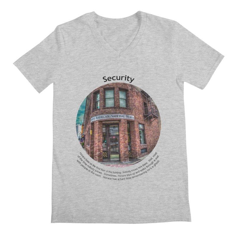 Security Men's V-Neck by Hogwash's Artist Shop