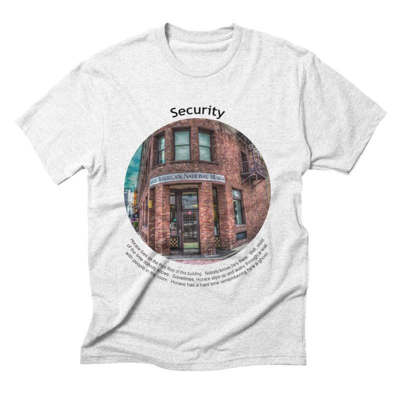 Security Men's Triblend T-shirt by Hogwash's Artist Shop