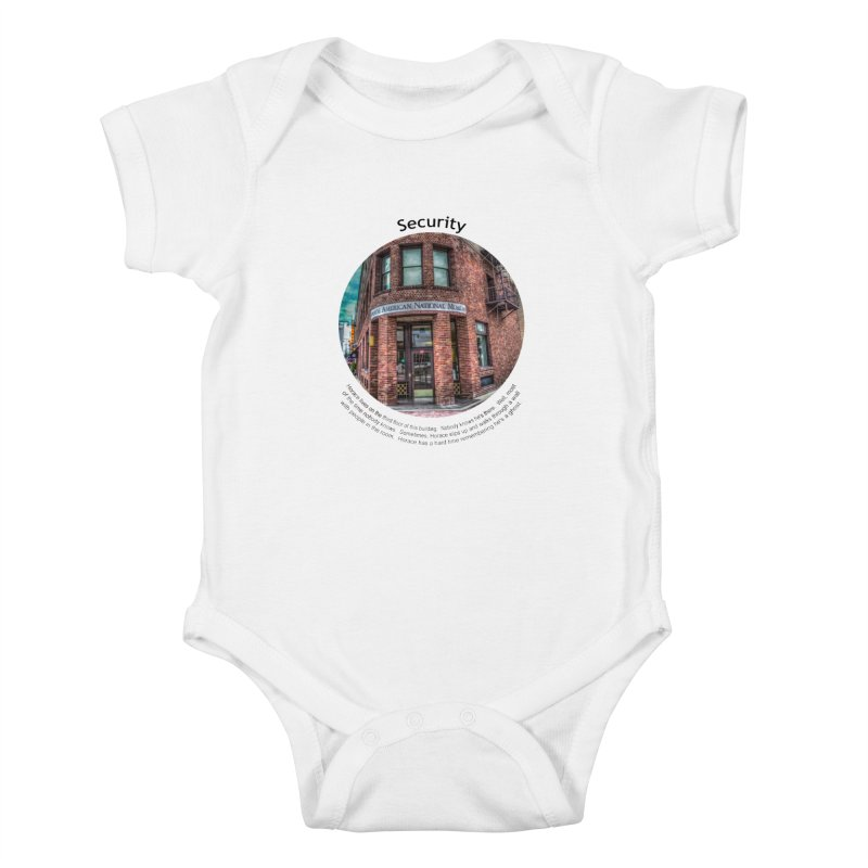 Security Kids Baby Bodysuit by Hogwash's Artist Shop