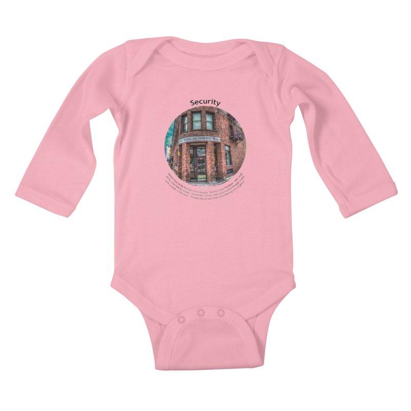 Security Kids Baby Longsleeve Bodysuit by Hogwash's Artist Shop